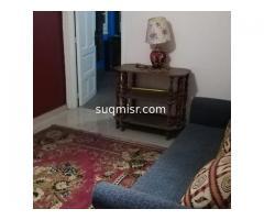 شقة فاخرة مفروشة للايجار - سيدى بشر - برج الشاطىء-الدور ٢-اول نمرة من البحر - صورة 4